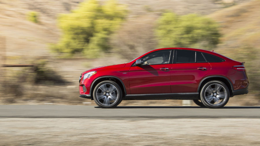Mercedes-Benz GLE 450 AMG Coupe 2016 года