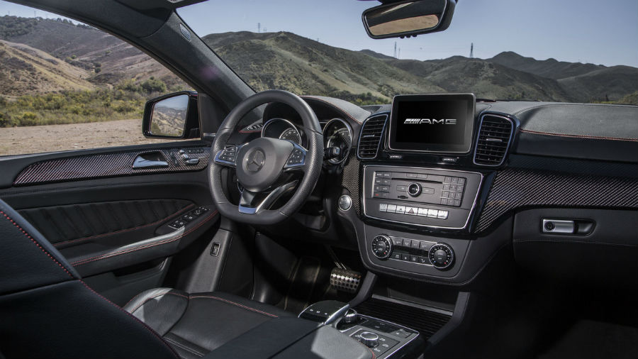 Салон Mercedes-Benz GLE 450 AMG Coupe